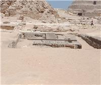 صور| شاهد الصور الأولى للكشف الآثري الجديد بمنطقة سقارة