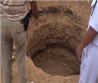 ضبط مزارع للتنقيب عن الآثار في منزله بالشرقية