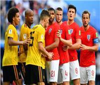 صور| أبرز اللقطات في مباراة بلجيكا وانجلترا