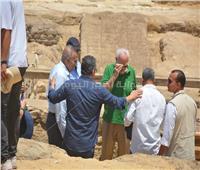 كشف أثرى جديد بمنطقة آثار سقارة