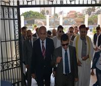 أشرف صبحي يصل محافظة مطروح لتفقد المنشآت الشبابية والرياضية
