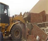 إزالة 279 حالة تعدٍ على الأراضي الزراعية بالمنيا