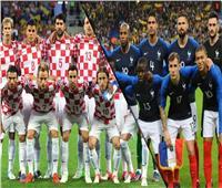 روسيا 2018| بث مباشر لمباراة فرنسا وكرواتيا