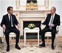 روسيا 2018| صور.. «بوتين» يستقبل رئيسي كرواتيا وفرنسا