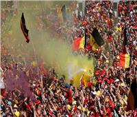 روسيا 2018| شاهد احتفال الجمهور البلجيكي بمنتخبه.. صور