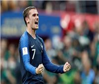 روسيا 2018| جريزمان لاعب مباراة فرنسا وكرواتيا