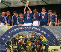 الديوك الفرنسية تصيح في كأس العالم بعد 20 عاما من الانتظار