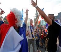 روسيا2018|  فيديو| الجماهير الفرنسية تحتفل بتتويج الديوك بكأس العالم
