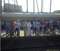 النيابة تسلم صندوق قطار المزاريق الأسود للجنة السكك الحديد