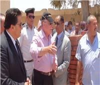 محافظ جنوب سيناء يتفقد مشروعات تنموية بمدينة دهب