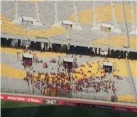 توافد  جماهير الأهلي على ملعب برج العرب قبل بدء المباراة بـ3 ساعات