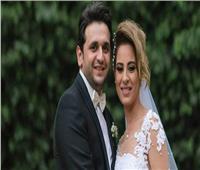 شاهد  هكذا احتفل مصطفى خاطر بعيد زواجه الأول