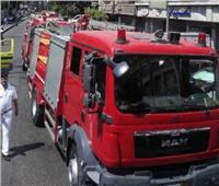 السيطرة على حريق ضخم التهم مخزن شنط في باب الشعرية