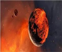 شاهد| كوكب المريخ عند حدوث العواصف الرملية
