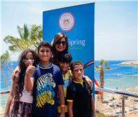 وزيرة الهجرة تنظم حلقة نقاشية مع أطفال «معسكر أبناء الأجيال»