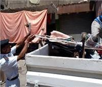 أمن القاهرة: تنفيذ 450 إزالة في حملة أمنية مكبرة بالعاصمة