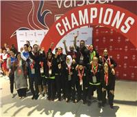 منتخب مصر لكرة القدم النسائية للاولمبياد الخاص يهدى برونزية كأس العالم للرئيس