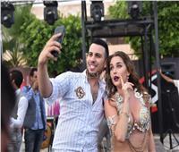 صور| حمادة مجدي يُغني.. وأنستاسيا ترقص بحفل «club xS»