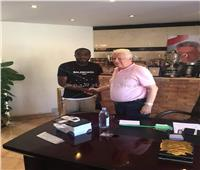 كاسونجو يوجه رسالة لمرتضى منصور