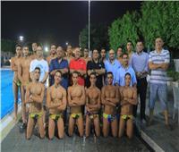 المنتخب الوطني لكرة الماء يستعد لكأس العالم في الأهلي