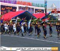 بالصور| «سلام الشهيد» خلال استعراض طابور العرض لخريجي الكليات العسكرية