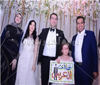 صور| الليثي يُحيي زفاف «مصطفى ودينا» بحضور وزير التموين