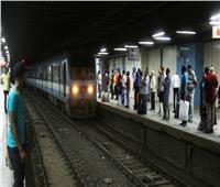 المترو يعلن تخفيض سرعة قطارات الخطين الأول والثاني