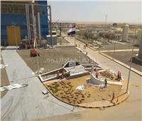 محطة كهرباء العاصمة الإدارية تتزين لاستقبال الرئيس السيسي