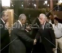 فيديو  كبار الصحفيين في عزاء سيف العماري