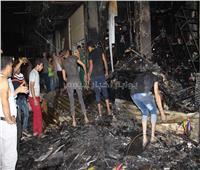 فيديو وصور «ماس كهربائي» السبب الرئيسي في «حريق العتبة»