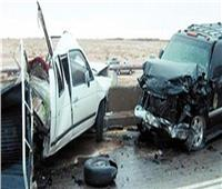 إصابة شخصين في تصادم بطريق إسكندرية الصحراوي