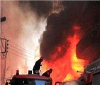 نيابة الجمالية تأمر بتشكيل لجنة لمعاينة خسائر حريق الموسكي