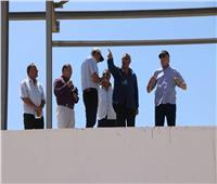 «فودة» يتفقد مشروع قاعة المؤتمرات الكبرى الجديدة بشرم الشيخ
