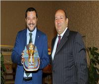 سالفيني : علاقاتنا مع مصر هامة لاستقرار المنطقة