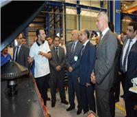 وزير الطيران المدني يضع حجر الأساس لمشروع «هنجر 9000»