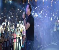 صور| حكيم وحفل غنائي ناجح بالإسكندرية