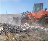 إزالة تعديات على أراضى الدولة بمساحة 25 الف متر بأسوان