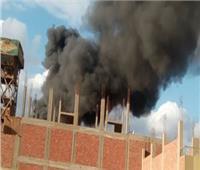 السيطرة على حريق داخل مخزنين في بولاق أبو العلا