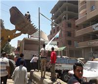 إزالة 180 حالة إشغالات في حملة مكبرة ببني مزار
