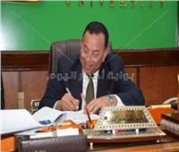 رئيس جامعة المنوفية : يعتمد دبلومات الدراسات العليا بـ5 كليات