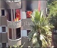 السيطرة على حريق بشقة في حدائق حلوان دون إصابات