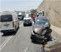 مصرع 4 أشخاص وإصابة 3آخرين في حادث تصادم غربي الاسكندرية