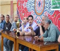 حزب مستقبل وطن يختتم فعاليات دوري كرة القدم بملوي