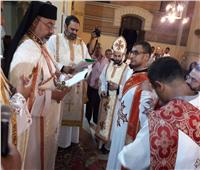 بطريرك الأقباط الكاثوليك يمنح الدرجة الانجيلية لأحد الشماسين
