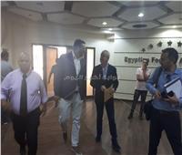 أجيري يصل اتحاد الكرة  لعقد مؤتمر صحفي