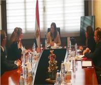 وزيرة التخطيط تبحث مع البنك الأوروبي المشروعات المقترح تنفيذها في مصر