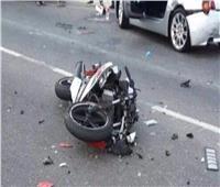 مصرع عامل فى حادث تصادم دراجته البخارية بالفيوم