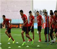الأهلي يخصص فقرة للتدريب على تسديد الضربات الثابتة استعدادًا للمصري