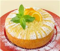 حلو اليوم.. «كيك البرتقال»