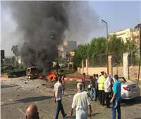 الصحة: إصابة ٣ مواطنين في اشتعال النار بسيارتين بالدقي